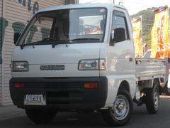 キャリイトラック4WD/AC/5MT/デフロック/ドアバイザー付