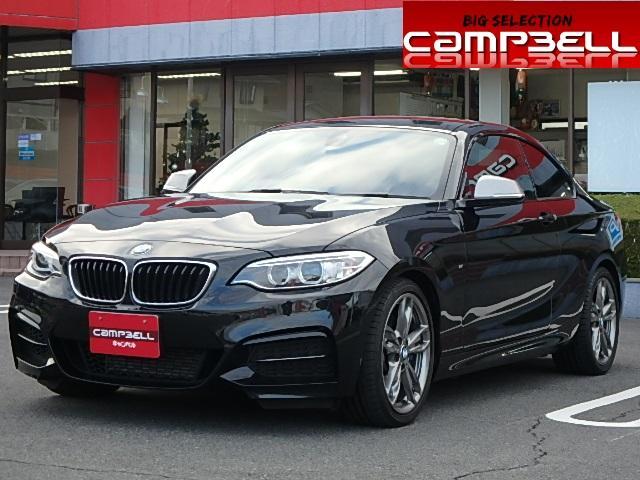 BMW 2シリーズ M235iクーペ 18アルミ 赤革 ナビ輸入車...
