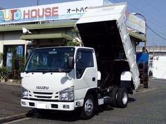 エルフトラック強化ダンプ 低床3トン 4ナンバー