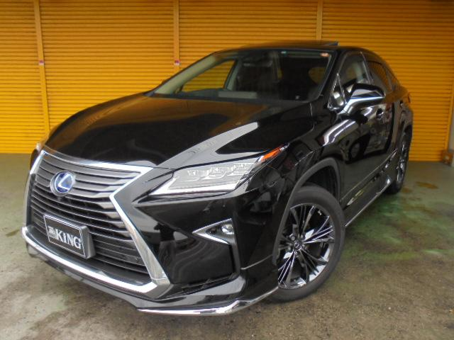 lexus rx rx450h version l 2016 black 9 045 km details japanese used cars goo net exchange. Black Bedroom Furniture Sets. Home Design Ideas