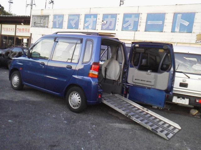 三菱 福祉車両 スローパー 車いす輸送車 禁煙