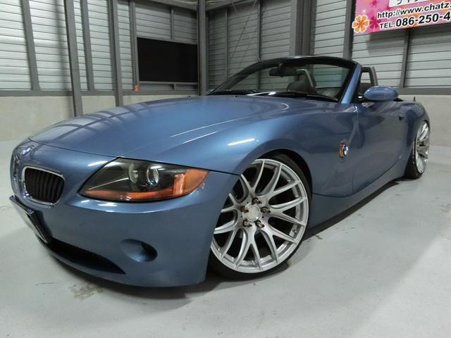 BMW 2.5i 電動オープン外19AW車高調HIDキーレスETC