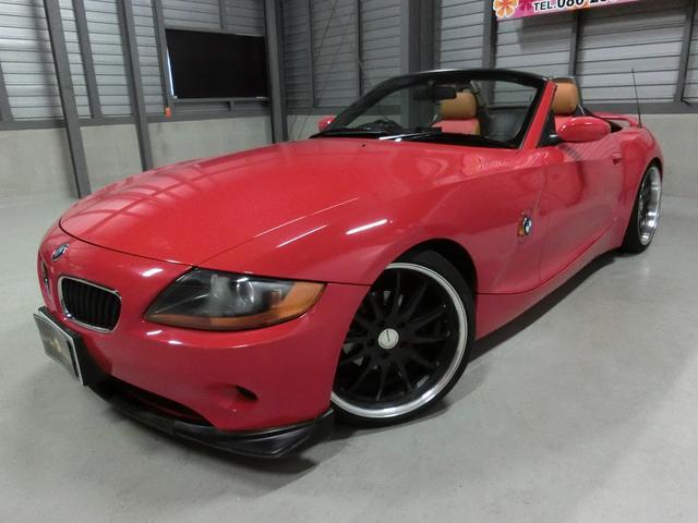BMW 2.2i 外エアロ19AW車高調 外マフラー革調席イカリング