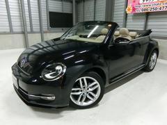 VW ザ・ビートル・カブリオレターボ 電動オープン 本革 ナビフルセグTV 純AW HID