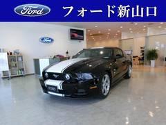 フォード マスタング V8 GT プレミアム ワンオーナー ホワイトストライプ(フォード)