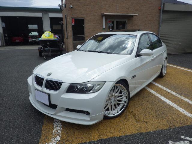BMW 3シリーズ 323i Mスポーツpk 深リム19 車高調 ...