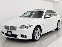 BMW550i Mスポーツ SR 本革 コンフォP パーキングP