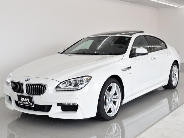 BMW 6シリーズ 640iグランクーペ Mスポーツ SR 黒革 ...