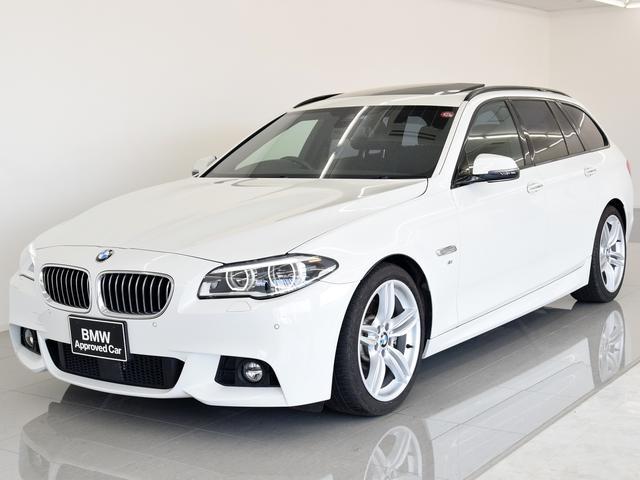 BMW 5シリーズ 535iツーリング Mスポーツ SR 黒革 L...
