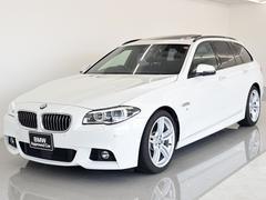 BMW535iツーリング Mスポーツ SR 黒革 LCI ACC
