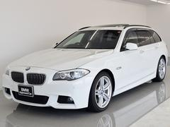 BMW535iツーリング Mスポーツ 黒革 SR HiFiスピーカ