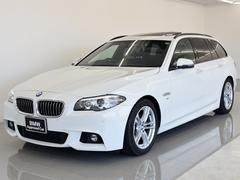 BMW523dツーリング Mスポ 黒革 SR 電動シート Dアシ