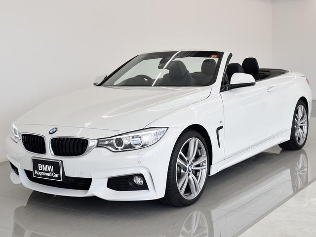 BMW 4シリーズ 435iカブリオレ Mスポーツ 黒革 ヘッドア...
