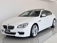 BMW640iグランクーペ Mスポーツ SR 本革 Dアシ ACC