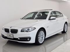 BMW523iラグジュアリ SR 黒革 Dアシプラス 18AW
