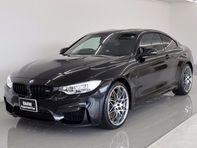 BMW M4クーペ コンペティション 黒革 レーンチェンジ 20AW