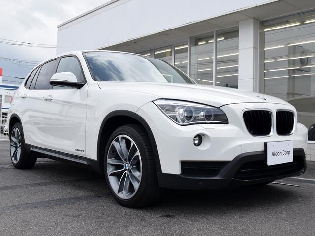 BMW X1 sDrive20iスポーツLCI 純正HDDナビ リ...