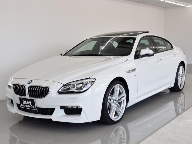 BMW 6シリーズ 640iグランクーペ MスポSR 黒革 ACC...