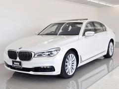 BMW 740i プラスP SR 黒革 レーザーライト OP19AW