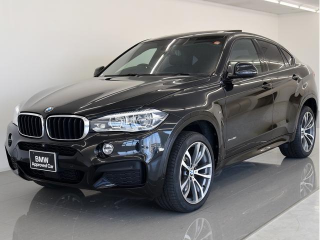 BMW X6 xDrive 35i Mスポーツ SR 黒革 セレク...