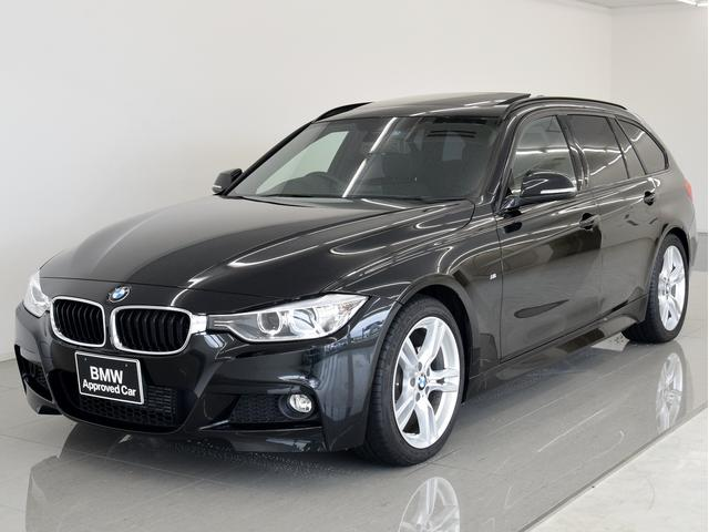 BMW 3シリーズ 320dツーリング Mスポーツ SR 黒革 地...