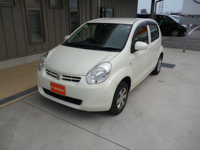 トヨタ パッソ X スマートキー ETC CDステレオ (車検整備付)