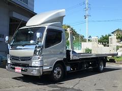 キャンター積載車 TADANO S−RIDEフルフラット メッキパーツ