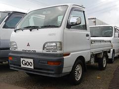 ミニキャブトラックVX 5MT 4WD エアコン パワステ カセット 記録簿