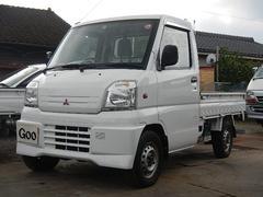 ミニキャブトラックパワステ 4WD 5MT 記録簿 荷台作業灯