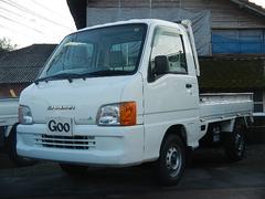 サンバートラックエアコン パワステ 5MT 4WD