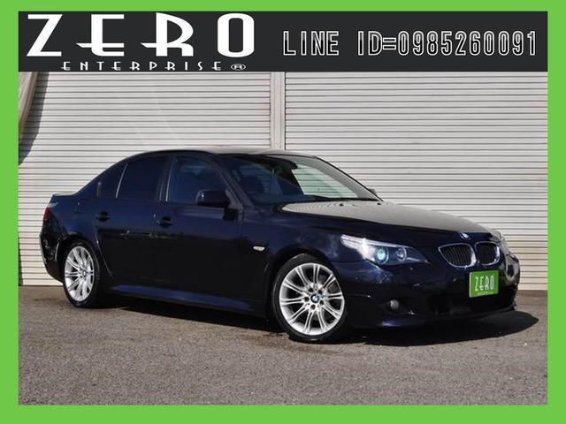 BMW 5シリーズ 525iMスポーツP 赤本革HDDナビ プッシ...