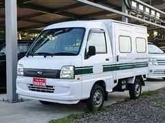 サンバートラックVBパネルバン 5MT エアコン 運転席エアバッグ