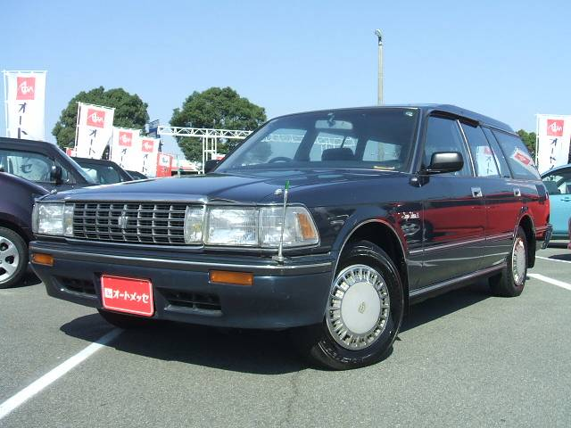 toyota crown super saloon. TOYOTA CROWN STATIONWAGON