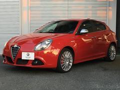 アルファロメオ ジュリエッタスポルティーバ 認定中古車保証 レザーシート ブレンボ