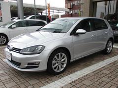 VW ゴルフTSIハイラインブルーモーションテクノロジー 登録済未使用車