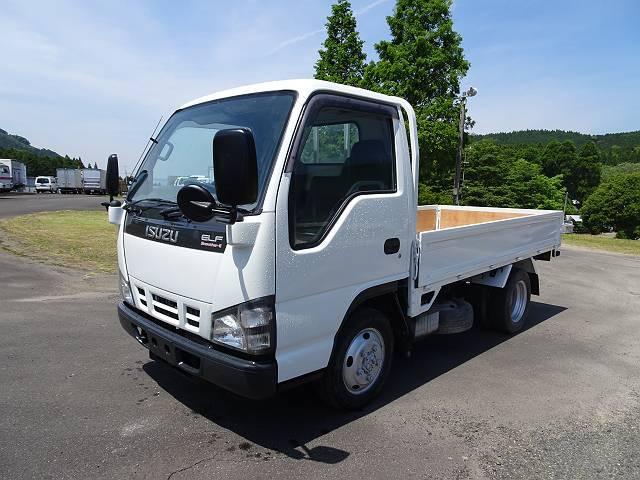 いすゞ エルフトラック 2t アルミバン 4WD (なし)