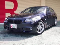 BMW523i Mスポーツ HDDナビBカメ 黒本革 サンルーフ