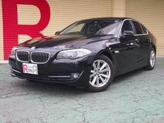 BMW523i ハイラインパッケージ HDDナビ Bカメ 黒本革