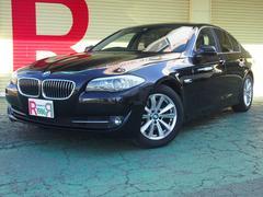 BMW523i ハイラインパッケージ HDDナビ 黒本革 アイスト