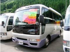 シビリアンバス キャンピング サイドオーニング FF軽油ヒーター 地デジTV(日産)