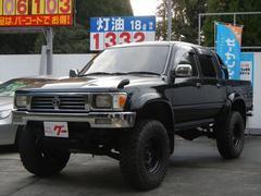 ハイラックスピックアップダブルキャブ SSR−X 4WD Dターボ リフトアップ