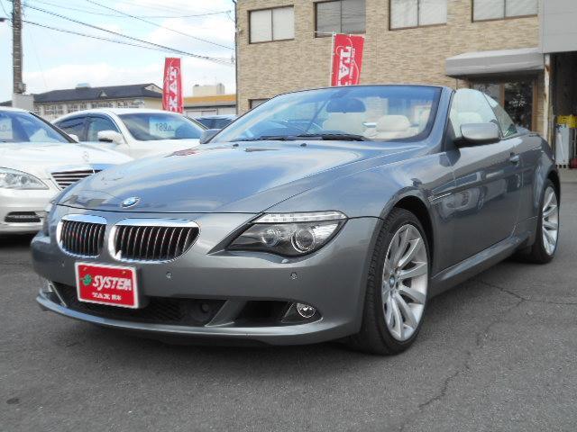 BMW 6シリーズ 650iカブリオレ 19インチアルミ レザーシ...