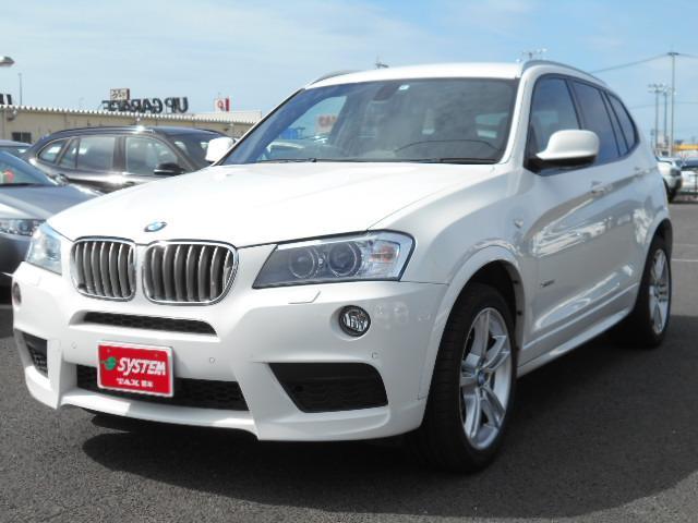 BMW X3 xDrive 35i Mスポーツパッケージ レザーシ...