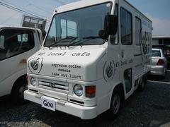 クイックデリバリー 移動販売車 横パネル開閉 キッチン一式 冷蔵庫(トヨタ)