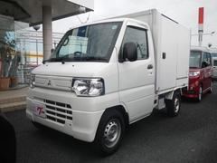 ミニキャブトラック冷蔵冷凍車 8ナンバー登録 荷箱左スライドドア