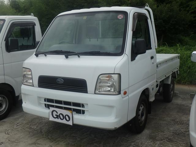スバル サンバートラック 5MT 4WD エアコン パワステ (車...