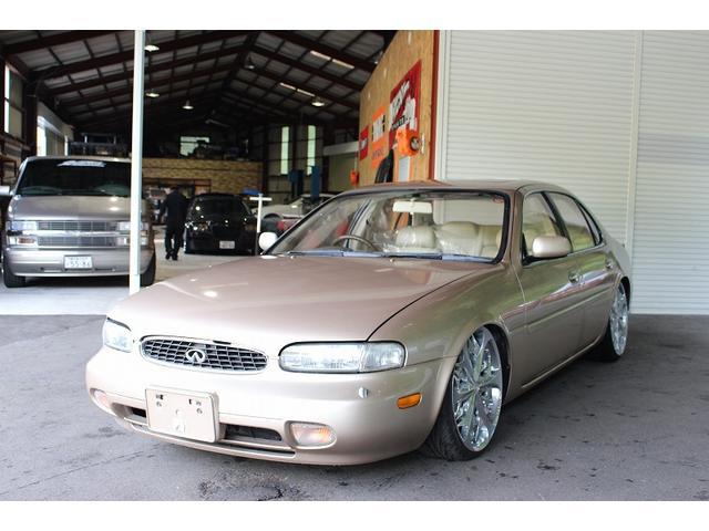 日産 LEXANI20インチホイール 車高調 HDD サンルーフ