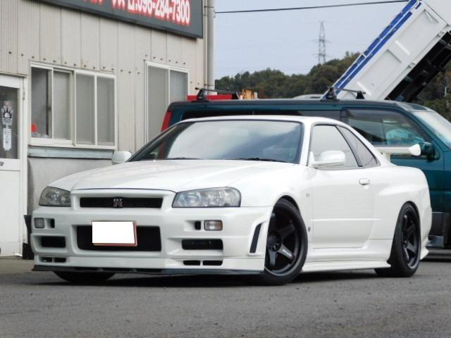 GT−R  4WD NISMOアルミ エアロ
