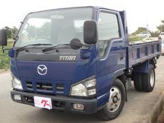 タイタントラック3tダンプ 5速MT フル装備 Wタイヤ ラジオ