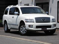インフィニティ QX564WD ナビ加工 サンルーフ 本革シート